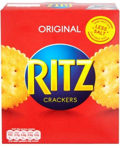 Ritz Crackers (200g) - 69p & Ritz Breaks Original / Rosemary & Olive Oil (6 Pack - 190g) - 94p @ Nisa...