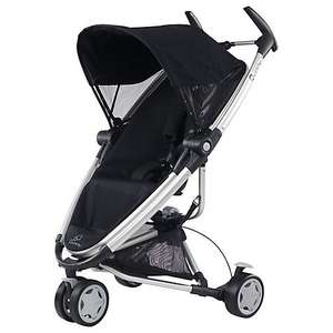 Quinny Zapp Xtra Pushchair, Rocking Black WAS £250 NOW £150 Free c+c or delivery @ john lewis