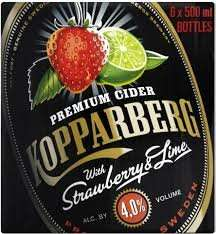 12x330ml cans of Strawberry &Lime Kopparberg £10 @ Tesco