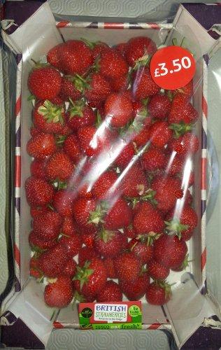 1Kg Fresh British Strawberries - £1.40 @ Tesco...