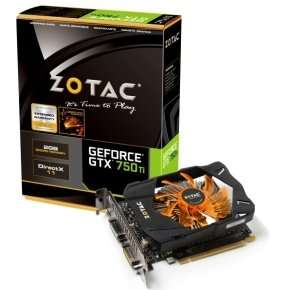 Zotac GTX 750 Ti 2GB GDDR5 Graphics Card (with free copy of Watch Dogs) £100.49 @ ebuyer