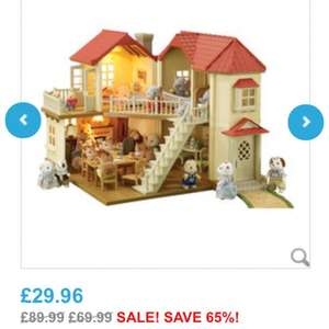 Sylvanian Families Beechwood Hall only £29.96 @ Toys r Us