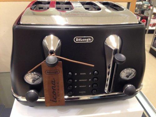 Delonghi Icona toaster, £45 John Lewis Clearance