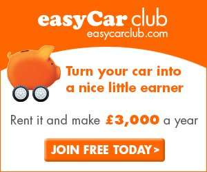 Free RAC roadside assistance + Free MOT by joining easyCar club (also free)