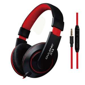 Ovleng X13 Headphones with Mic for phone calls £6.98 @ memorycapital / Amazon