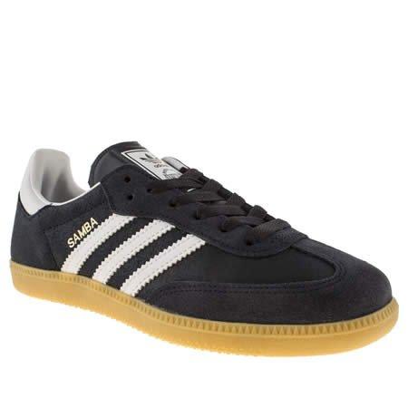 Womens Adidas Navy & White Samba £25 & TCB & P&P (free over £50 spend) @ Branch 309
