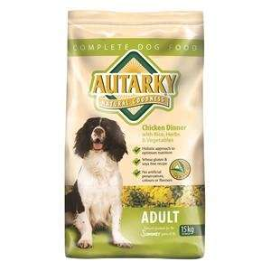 AUTARKY ADULT SUMMER DOG FOOD 15KG (CHICKEN DINNER) £20.99 @ gjwtitmuss