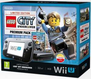 Wii U premium Lego city bundle with Mario kart 8, mario and sonic at the sochi 2014 winter olympics and sonic: lost world + gameware items £249.99  @ Game