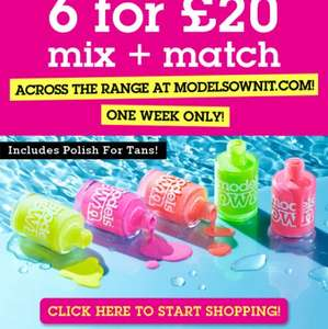 Models Own Mix + Match - 6 items for £20 + £2.95 delivery