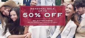 Upto 50% off Gant Clothing for Men, Women and Children