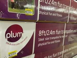 Plum 8ft trampoline £39.50 @ Tesco Bar Hill, Cambridge Instore