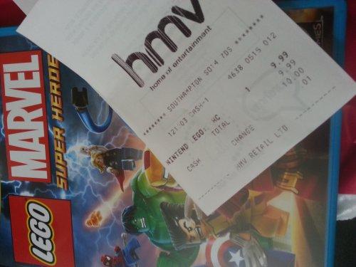 WiiU: Lego Marvel Super Heroes - £9.99 @ HMV