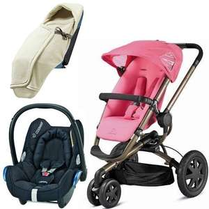 Quinny Buzz 3 Newborn Travel System Package in Precious Pink or Blue Charm or Red, £399.95 at PreciousLittleOne, delivered on Monday free