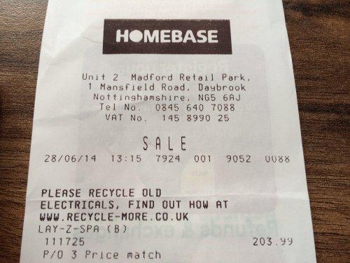 Bestway Lay-Z Spa Vegas only £203.99 @ Homebase