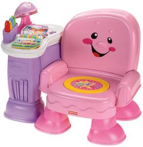 Fisher Price Laugh & Learn musical chair in pink - £23.32 @ Amazon & Argos