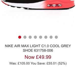 Mens nike air max from £49.99 @ stuartslondon