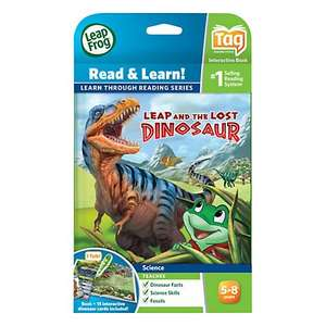 LeapFrog Tag Read and Learn, Leap and the Lost Dinosaur Book £6.00 @ John Lewis