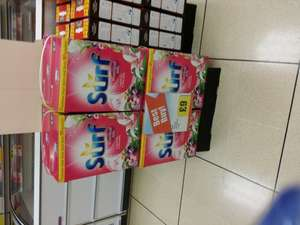 Surf Tropical Lily Soap Powder 90 Wash 6.3kg only £9 at Iceland