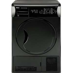 Beko DCU7230B 7Kg Condenser Dryer in Black 12 Months Manufacturers Guarantee - Free UK Delivery £211.99 @ Ebay/electrical123shop