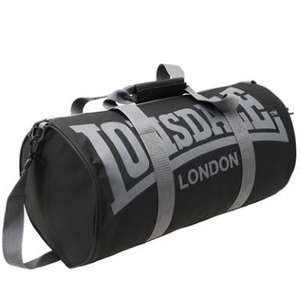 Lonsdale Barrel Bag! Ideal for a gym bag. Sportsdirect.com £4 + £3.99 P&P