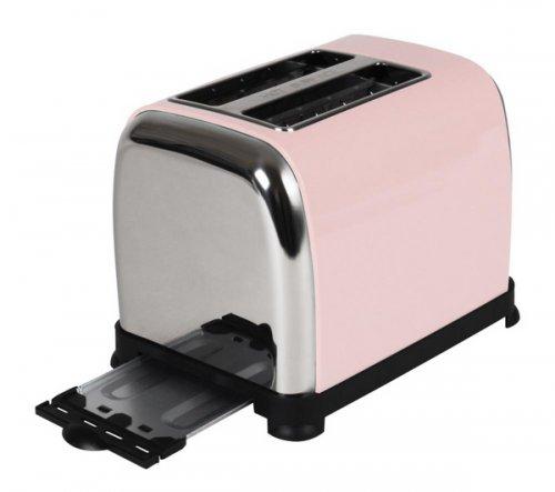 Pastel Pink Kalorik 2 Slice Toaster @ Currys