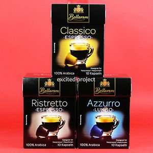 Nespresso compatible coffee capsules from Lidl £1.79