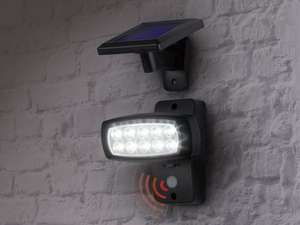 LED Solar motion sensor Spotlight (3 year warranty) £8.99 @ Lidl from 03/07/14