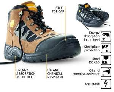 Workwear Boots £14.99 @ Aldi