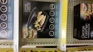 George Foreman 5 portion grill £15 @ wilkinsons