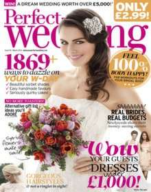 Perfect Wedding Magazine - £5 for 5 issues subscription