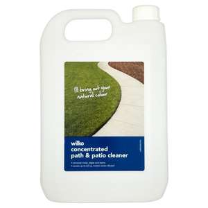** Path-Patio Cleaner - 5 Litres now £3 @ Wilkinsons / Wilko **