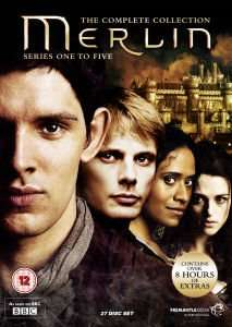 Merlin : The 'Complete' Collection Series 1 to 5 - DVD - £29.99 @ Zavvi