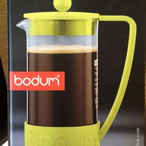 Bodum Brazil Coffee Press, 8 Cup, 1.0 L/34 oz - Lime Green - Cafetière £6.97 instore at Currys (Newport)