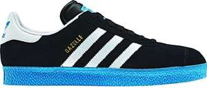 Adidas Gazelle 2.0 trainers Black / Running White / Solar Blue £33.95 inc delivery @ Adidas Shop