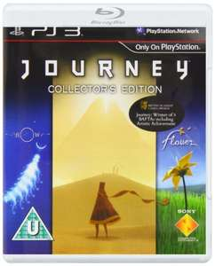 Journey - The Collectors Edition: 3 Games - Journey, Flower & Flow for PS3 - All 3 for £10.95 Delivered @ 666Media