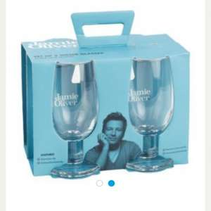 Jamie Oliver water glasses £3.50 @ Tesco Direct