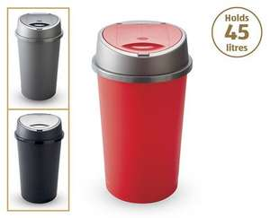 45 Litre Touch Bin from 10th £7.99  at Aldi