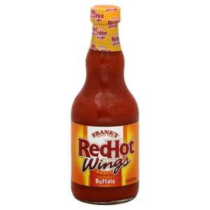 Franks Red Hot Buffalo Wings Sauce 1360ml £4.49 @ Costco