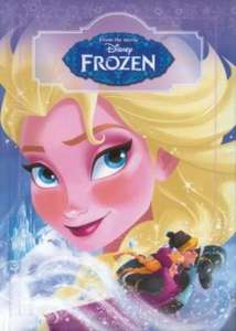 Disney Frozen Hardback Book RRP £9.99 now £3.99 +£2.95 p&p at The Book People