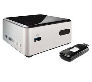 Intel DN2820FYKH Barebone Desktop (Celeron N2820 2.39GHz, HD Graphics, WLAN, Bluetooth 4.0) £92.98 @ Amazon