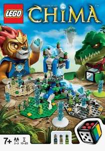 LEGO 50006 Legends of Chima Game £6.40 Sold by Midco Toys Ltd and Fulfilled by Amazon.  (free delivery £10 spend/prime)