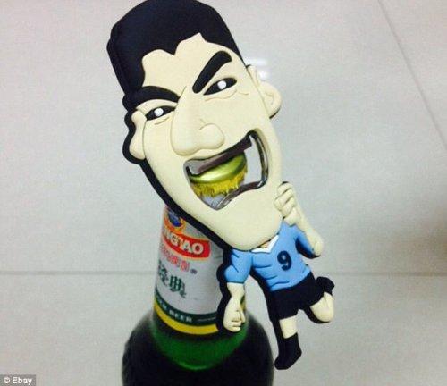 Luis Suarez Bite Bottle Opener £5.89 @ eBay (tech2go)