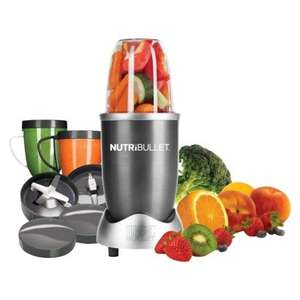 Nutribullet (12 piece set with recipe book) £84.99 (RRP £100) delivered @ Robert Dyas
