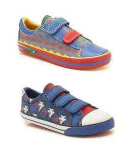 Clarks Boys Canvas Shoes, 3 different designs options, size from 6 to 12.5 (F&G width), £10 delivered