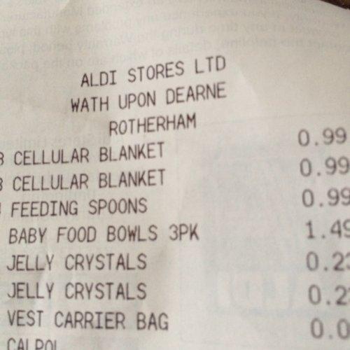 Aldi Celluar Blankets - Price Glitch 99p instore