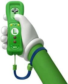 LUIGI Edition Nintendo Wii / Wii U REMOTE PLUS Controller £27.95 @ The Game Collection