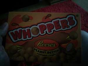 reeses whoppers (peanut butter maltesers) £1 in poundland