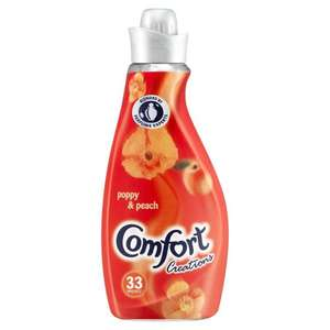 Comfort Creations Poppy 1.16L (33 washes) £1.75 at Wilko