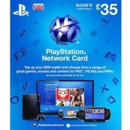 £35 PSN Card £28.97 w/Code @ CD Keys!