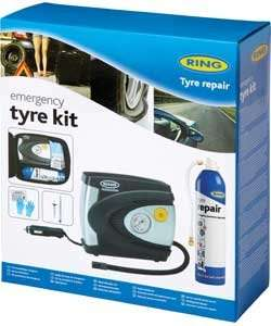 Ring Automotive Emergency Tyre Kit at Argos down from 29.99 to £15.99